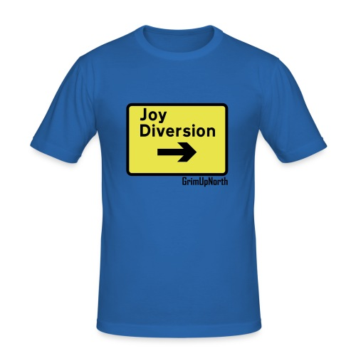 Joy Diversion - Men's Slim Fit T-Shirt