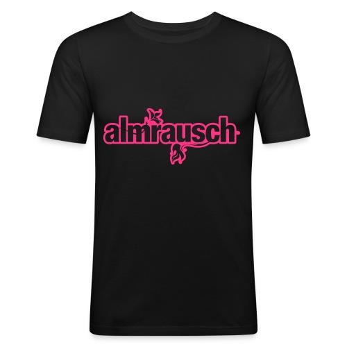 almrausch shirt - man slim fit - Männer Slim Fit T-Shirt