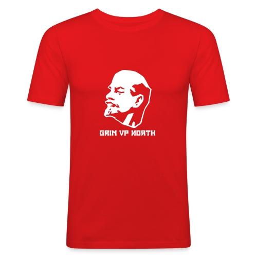 Lenin Grimski - Men's Slim Fit T-Shirt