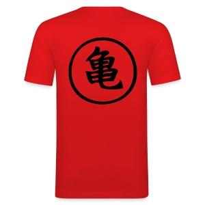 maestro tortuga - serie Dragon ball - Camiseta ajustada hombre