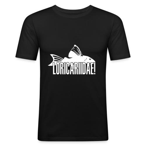 Loricariidae - velg farge! - Slim Fit T-skjorte for menn