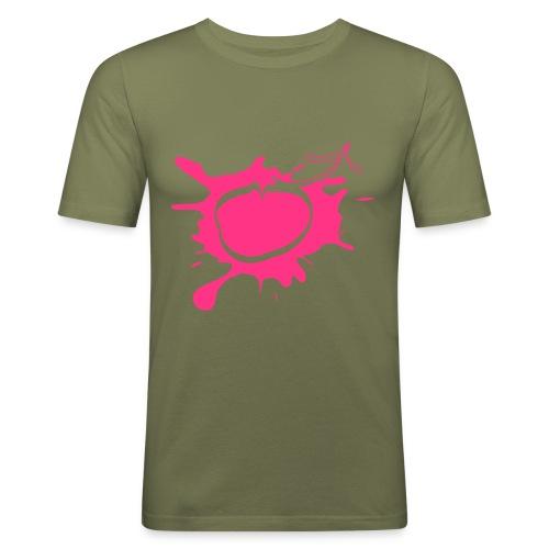 Le fameux logo en t-shirt près du corps - T-shirt près du corps Homme