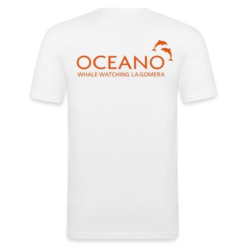 OCEANO Männer Slim Fit T-Shirt - Männer Slim Fit T-Shirt