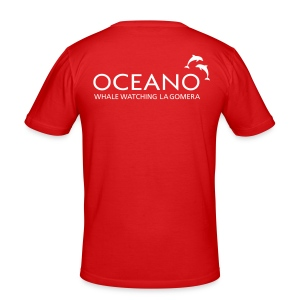 OCEANO Männer Slim Fit T-Shirt - Männer Slim Fit T-Shirt