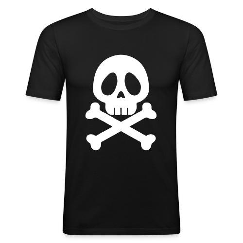 Tête de mort - Skull - Style Animé - T-shirt près du corps Homme
