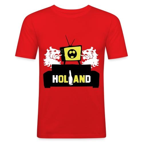 Voetbal kijken - slim fit T-shirt