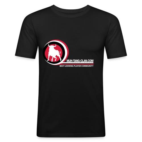 Muh-Fanshirt Slim Fit T-Shirt - Männer Slim Fit T-Shirt