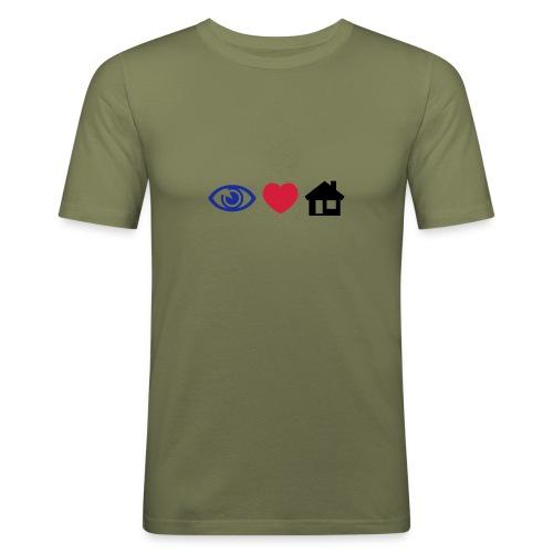I Love House - Men's Slim Fit T-Shirt