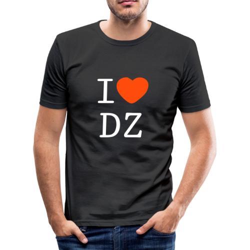 I Love DZ - T-shirt près du corps Homme