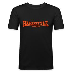 Hardstyle Denmark - Neonorange - Men's Slim Fit T-Shirt