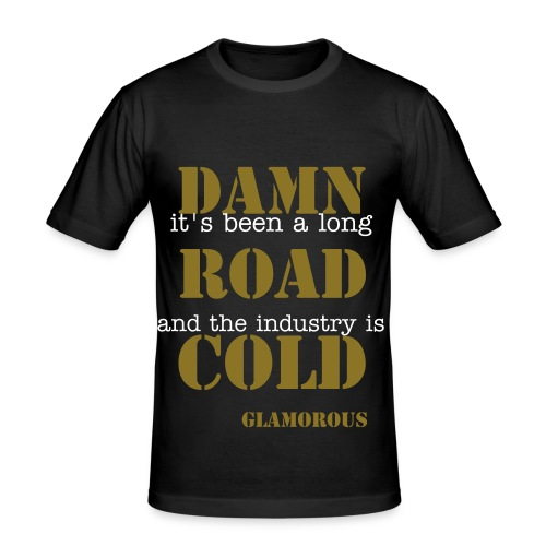 glam. - Herre Slim Fit T-Shirt