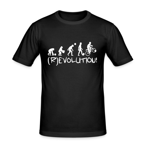 (R)evolution Slim - Männer Slim Fit T-Shirt