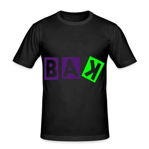 BAK - Herre Slim Fit T-Shirt