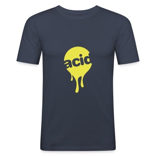 infekkt acid - Männer Slim Fit T-Shirt