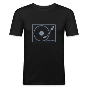 Schwarzhörer 2 AA schwarz - Männer Slim Fit T-Shirt
