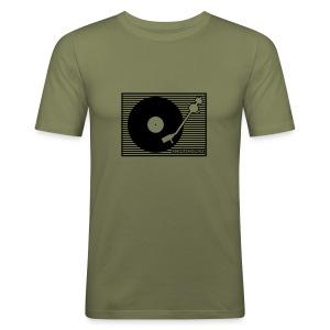 Schwarzhörer 3 slimfit grau - Männer Slim Fit T-Shirt