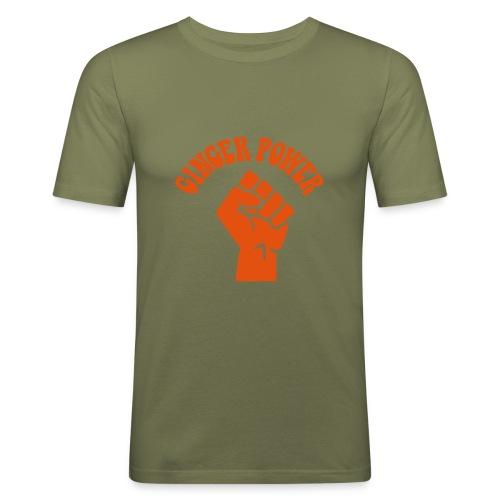 Ginger Power - Men's Slim Fit T-Shirt