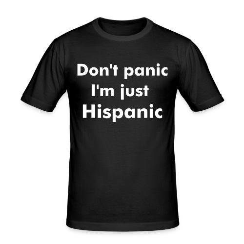 Hispanic - Men's Slim Fit T-Shirt