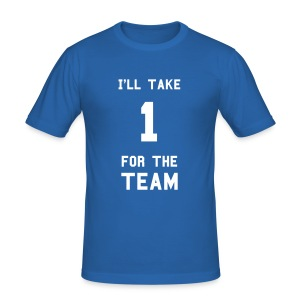 I'll take one for the team - slim fit T-shirt