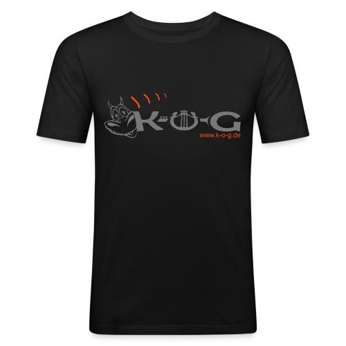 K-O-G Männer Slim Fit T-Shirt - Männer Slim Fit T-Shirt