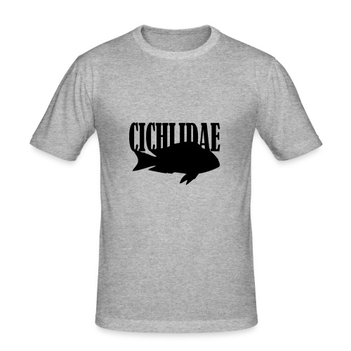 Cichlidae - Slim Fit T-skjorte for menn