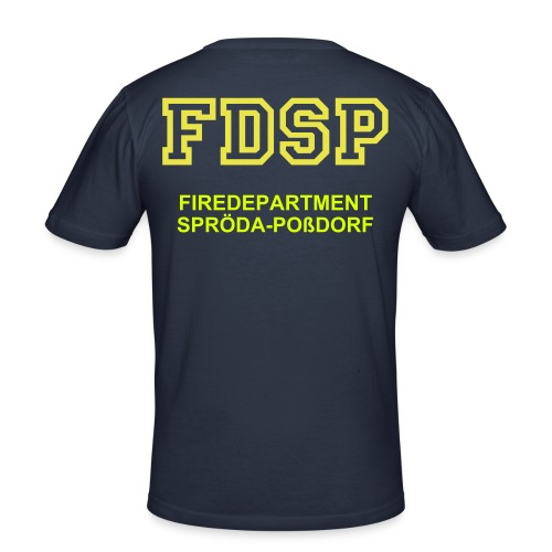 FDSP-Firedepartment Spröda-Poßdorf - Männer Slim Fit T-Shirt