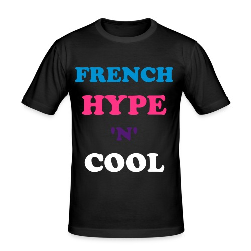 FRENCH HYPE 'N' COOL - T-shirt près du corps Homme