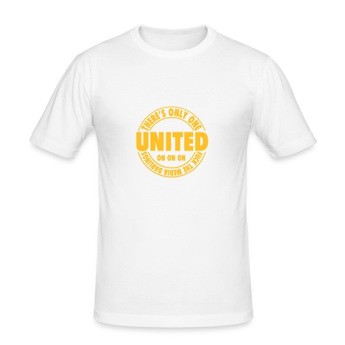 THERE'S ONLY ONE UNITED - Men's Slim Fit T-Shirt