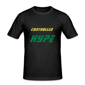 more controlled hype designs - Men's Slim Fit T-Shirt