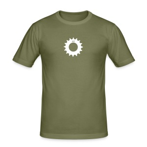 Single Sprocket SlimTee - Men's Slim Fit T-Shirt