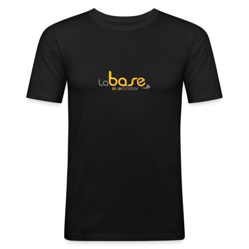 """Tee-shirt """"La base electrobar"""" - T-shirt près du corps Homme"""