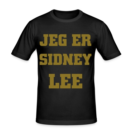 JEG ER SIDNEY LEE - Herre Slim Fit T-Shirt