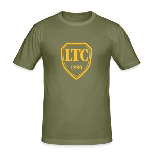 "LTC ""Banner-HEART"" - Männer Slim Fit T-Shirt"