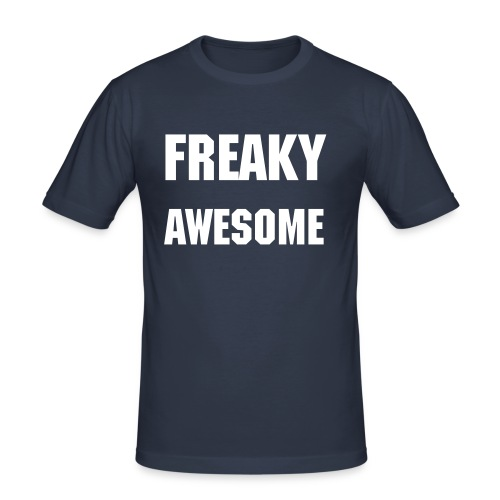 Freaky Awesome - Men's Slim Fit T-Shirt