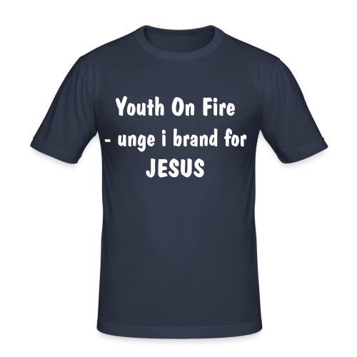 Youth On Fire - trøje - Herre Slim Fit T-Shirt
