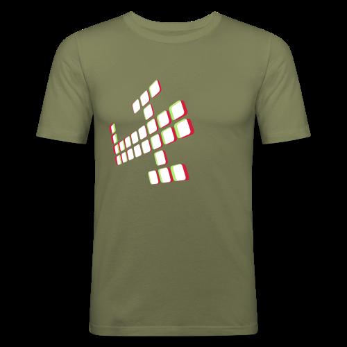 3Dplane - Men's Slim Fit T-Shirt