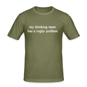 Drinking Team Mens T Shirt - Men's Slim Fit T-Shirt