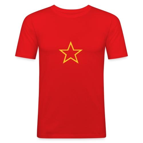 Soviet Red Army Star Slim-Fit Tee - Men's Slim Fit T-Shirt