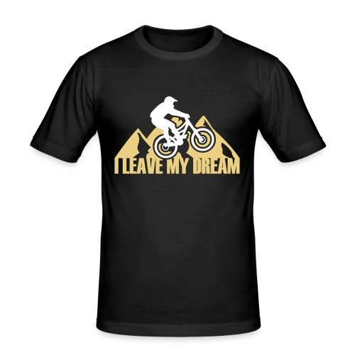 MTB_ILEAVEMYDREAM - Männer Slim Fit T-Shirt