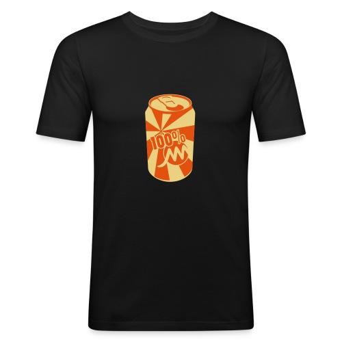 Près du corps H noir Canette - T-shirt près du corps Homme