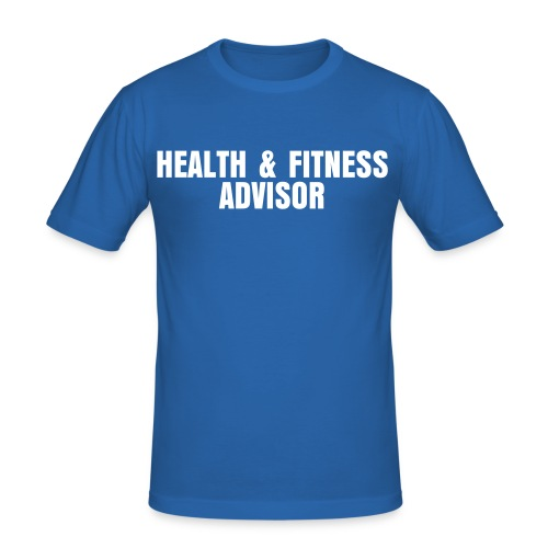 Health & Fitness Advisor - Men's Slim Fit T-Shirt