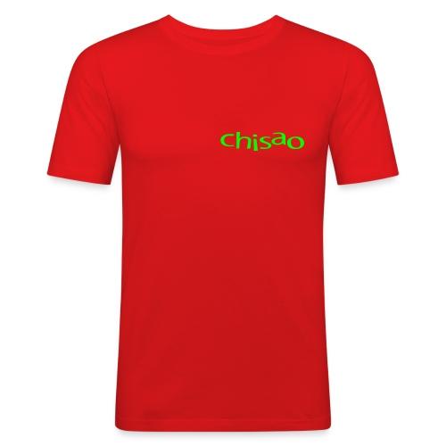 Herren-Sportshirt rot - Männer Slim Fit T-Shirt