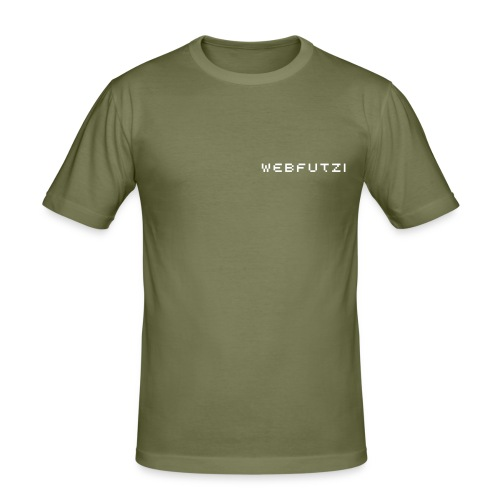 webfutzi (md) - Männer Slim Fit T-Shirt