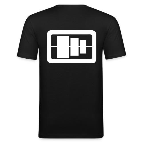 Soundpro Men's Slim Fit - Männer Slim Fit T-Shirt
