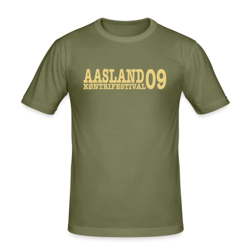 Offisiell AKF09 TobyTee (OBS! GAMMEL MODELL) - Slim Fit T-skjorte for menn