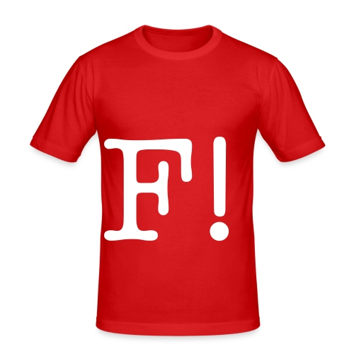FRINGLE! - Herre Slim Fit T-Shirt