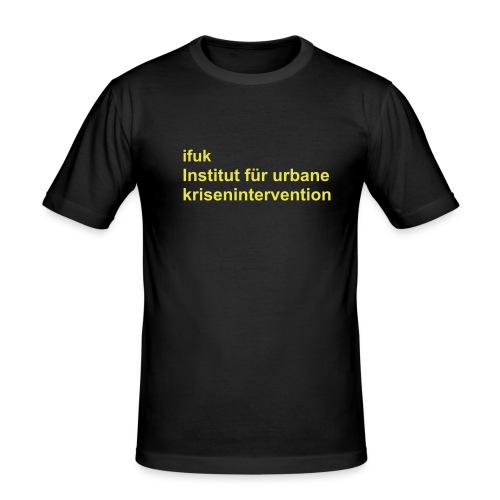 Ifuk Institut für urbane Krisenintervention - Männer Slim Fit T-Shirt