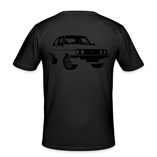 Escort RS mkII black - Men's Slim Fit T-Shirt
