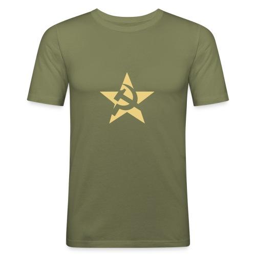 Soviet Star Slim Fit Tee - Men's Slim Fit T-Shirt