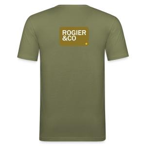 Het hoogst haalbare... dat heb je wel eens :) Stoer mannenshirt! - slim fit T-shirt